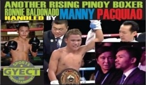 Video: FAST Rising UNDEFEATED PINOY BOXER Handled by PACMAN